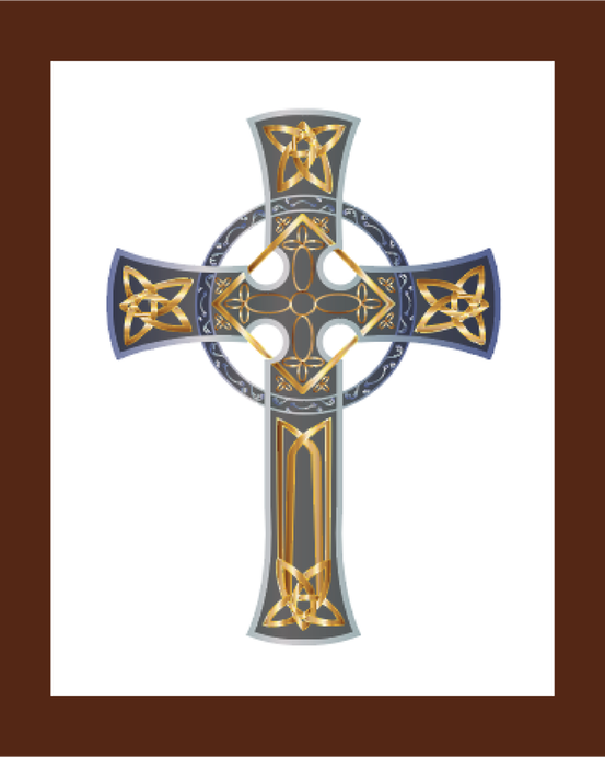Celtic Cross US Marine Corps