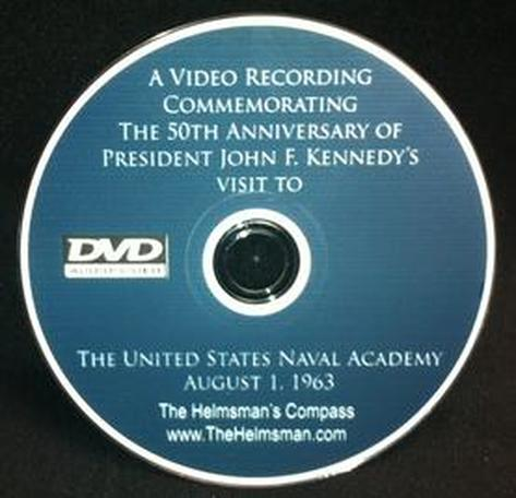 Kennedy's Visit to the Naval Academy DVD